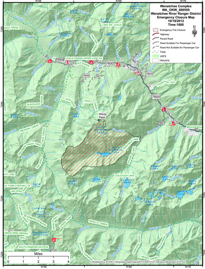 Eightmile Lake Closure