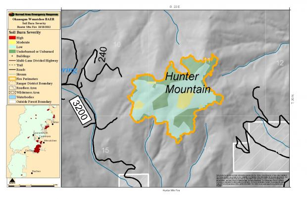 The Hunter Mountain Fire