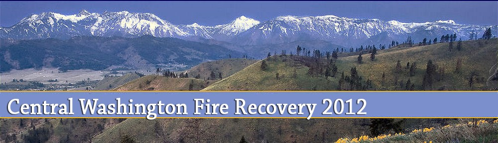 2012 Central Washington Fire Recovery