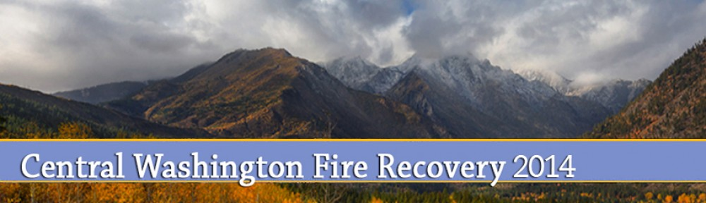 Central Washington Fire Recovery 2014
