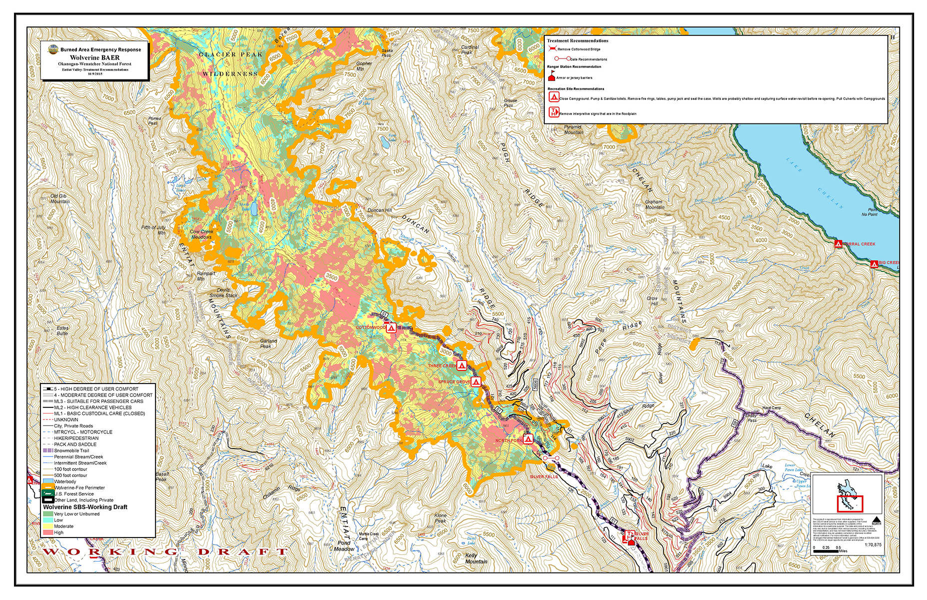 Maps Central Washington Fire Recovery 2015