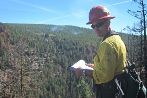 BAER team member, Black Canyon Fire